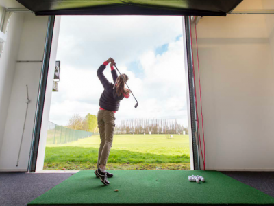 Indoor drivingrange